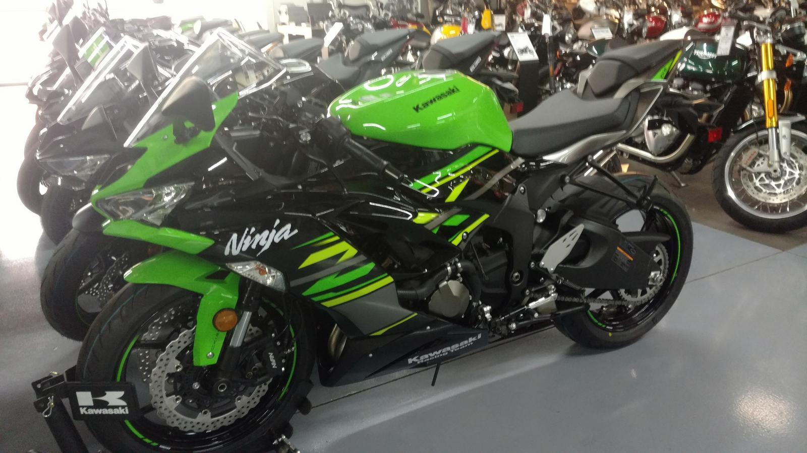 2019 Kawasaki Ninja ZX-6R ABS KRT Edition