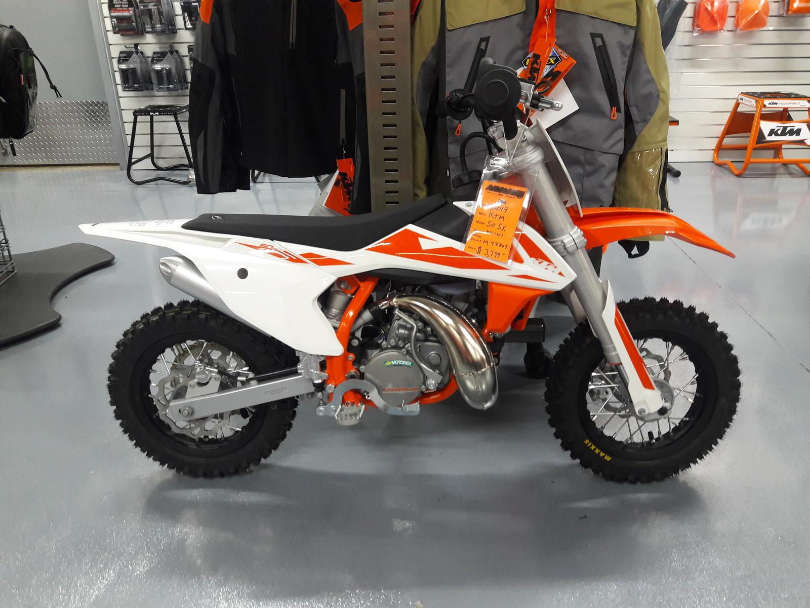 2019 KTM 50 SX