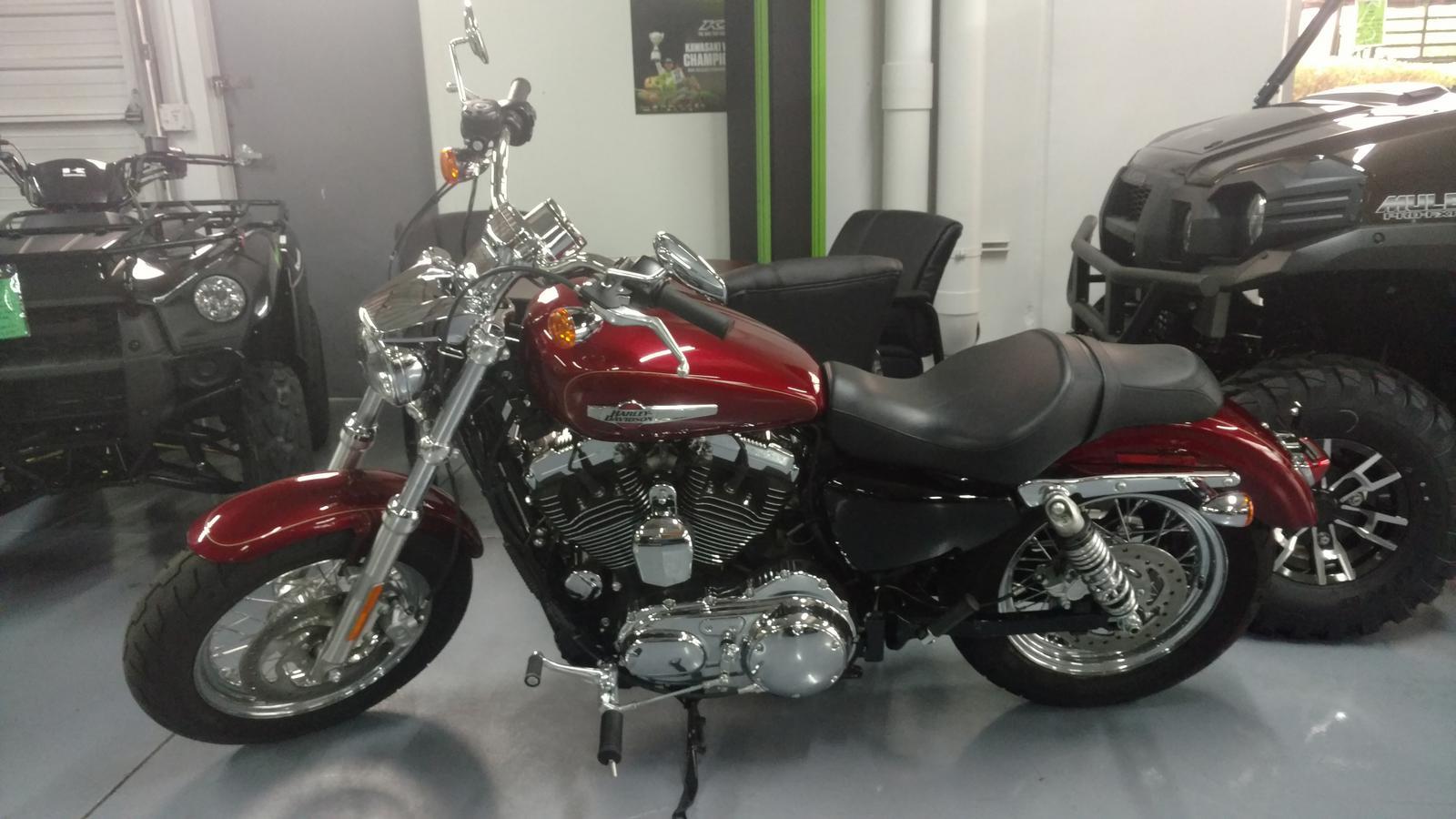 2017 Harley-Davidson® Sportster 1200 Custom