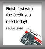 Finish first with the Credit you need today!