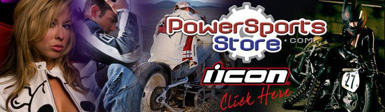 Icon street bike gear at PowerSportsStore
