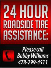 24 Hour Roadside Assistance: Please call Bobby Williams 478-299-4511
