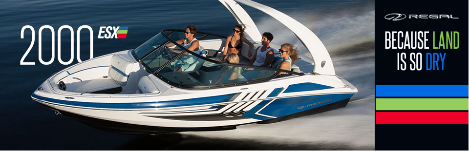 Click here to browse our selection of Regal boats!