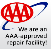 We are a AAA approved repair facility!