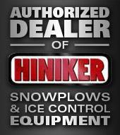 Authorized Dealer of Hiniker Snowplows & Ice Control Equipment