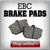 EBC Brake Pads. Shop online!