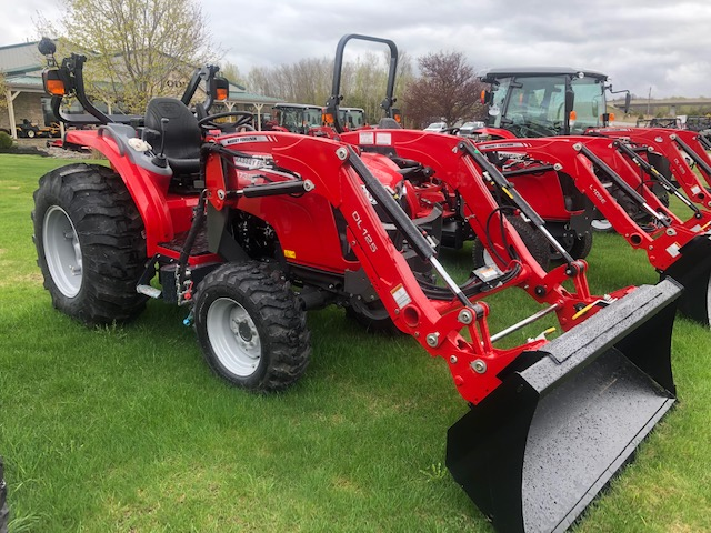 2019 Massey Ferguson 1735 M- 35 hp Tractor Loader Cab for sale in