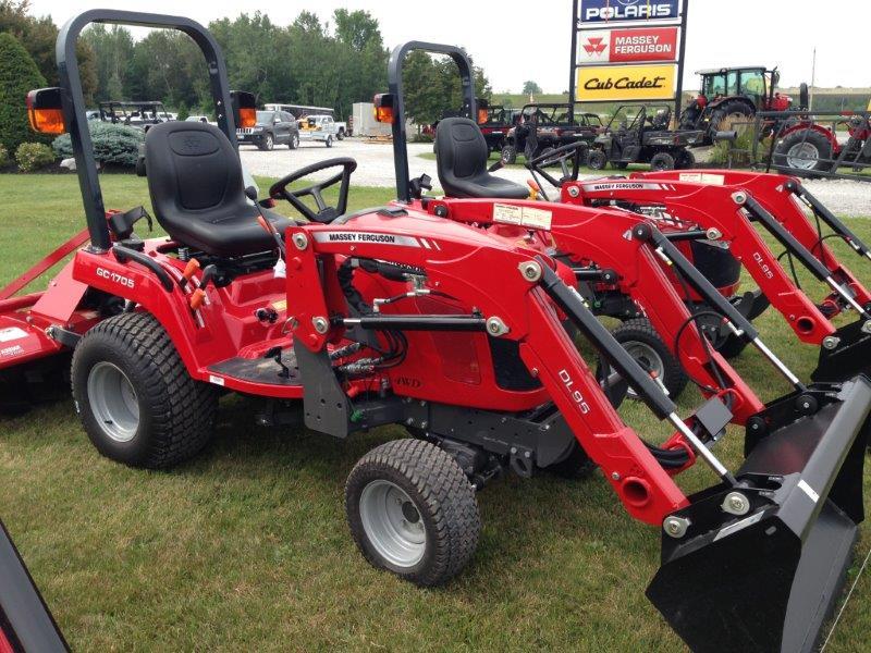 2018 Massey Ferguson GC 1705 - 22 5 HP for sale in