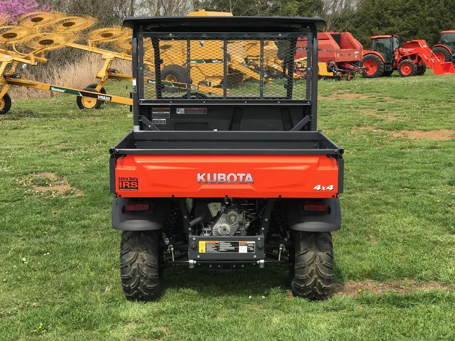 2019 Kubota RTV X900 Orange 4WD Diesel ATV Tires Add For Top Windshield