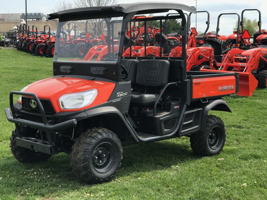 2019 Kubota RTV-X900 Orange 4WD Diesel ATV tires - Add for top & Windshield