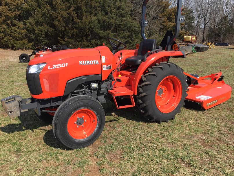2019 Kubota L2501 2WD - PACKAGE SPECIAL - $0 down payment - 0% for 60