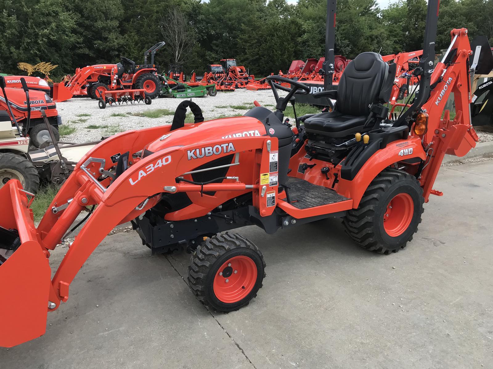 2019 Kubota BX23S - Tractor Loader Backhoe