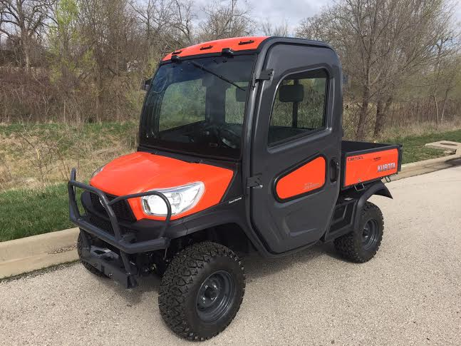 2019 Kubota RTV-X1100 Cab Orange 4WD Diesel
