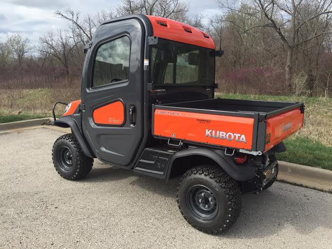 2019 Kubota RTV-X1100 Cab Orange 4WD Diesel