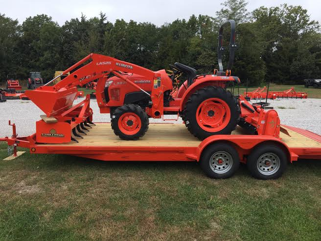 2019 Kubota L3301 (Gear-Drive Transmission 4WD) for sale in