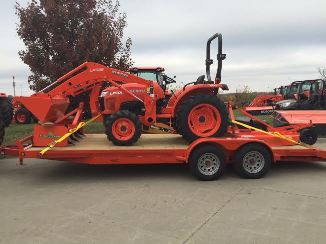 2019 Kubota L2501 (HST 4WD) TRACTOR PACKAGE DEAL for sale in