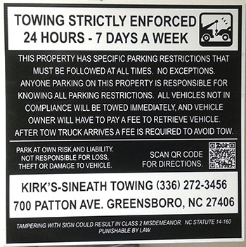 Private Property Towing