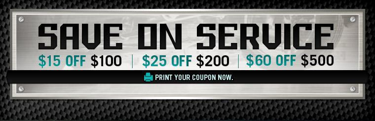 Save on service! Click here to print your coupon now.