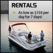 Rentals as low as $156 per day for 7 days!