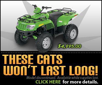These Cats won't last long! Model discontinued. Available while supplies last for $4995. Click here for more details.