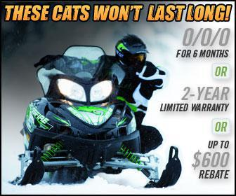 These Cats won't last long! 0/0/0 for 6 months OR 2-year limited warranty OR up to $600 rebate