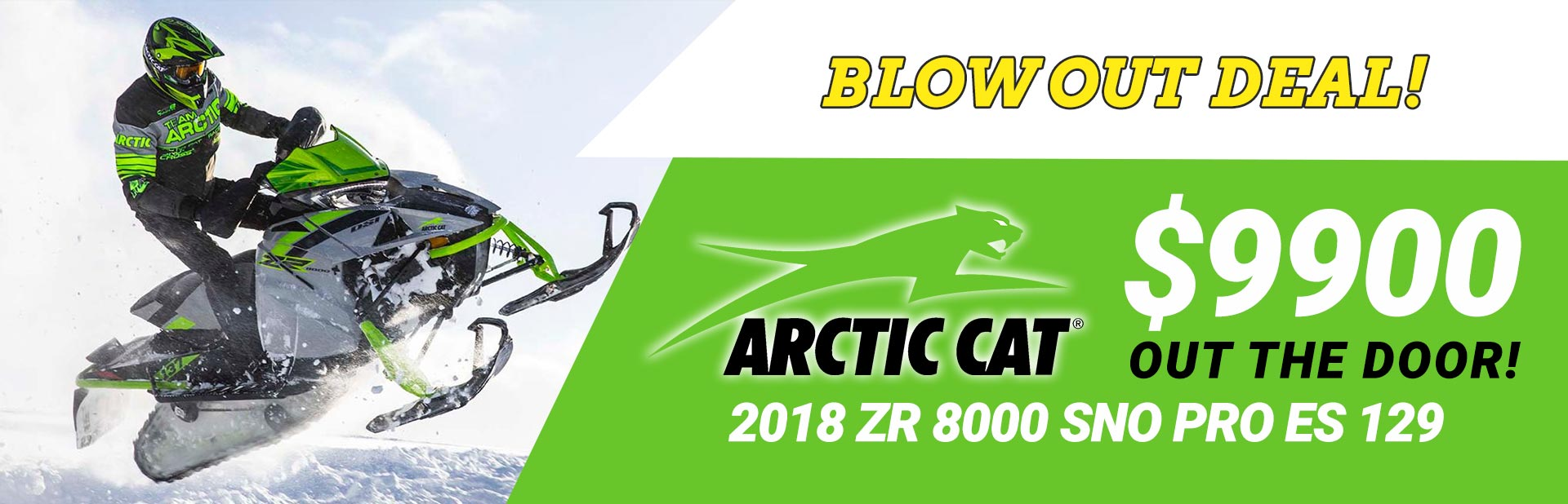 Arctic Cat Blowout Deal