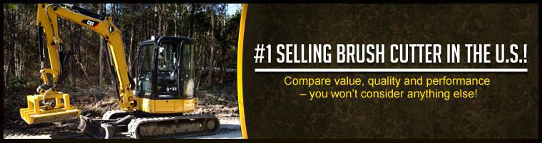 #1 Selling Brush Cutter in the U.S.! Compare value, quality and performance – you won't consider anything else!