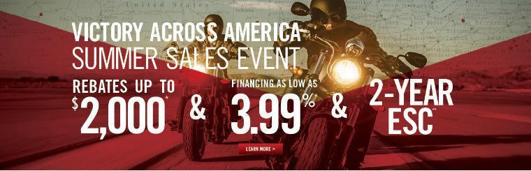 Current Victory Motorcycles Promotion