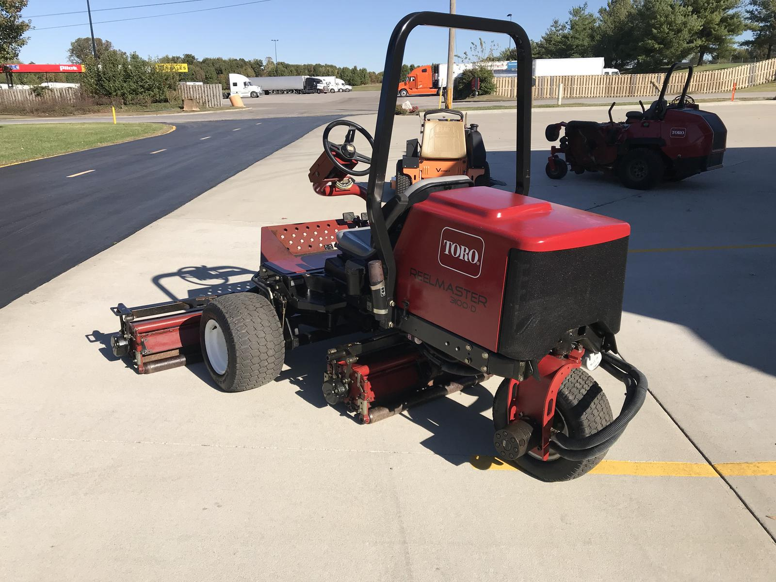 Toro Reelmaster 3100 D Sidewinder For Sale In Haubstadt
