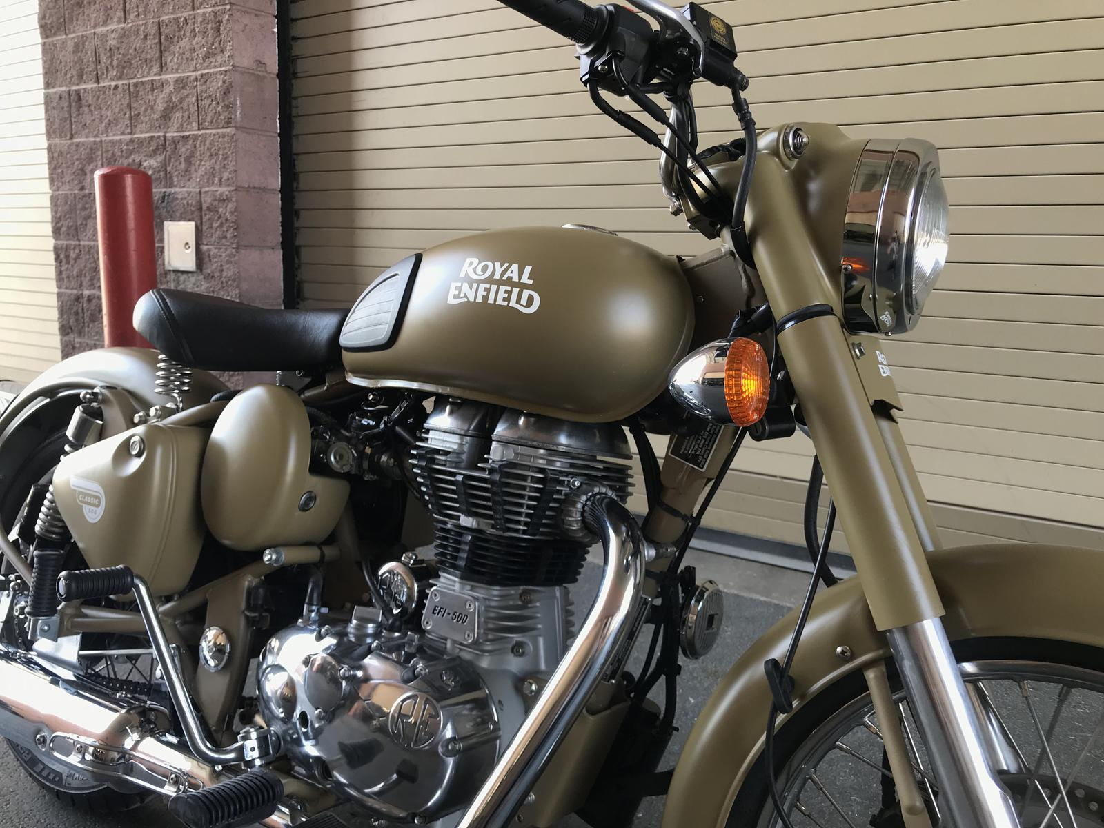 2017 Royal Enfield CLASSIC MILITARY for sale in Las Vegas NV