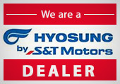 We are a Hyosung Dealer