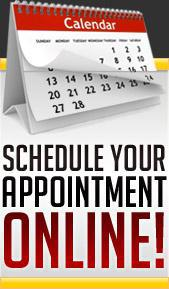 Schedule your appointment online!