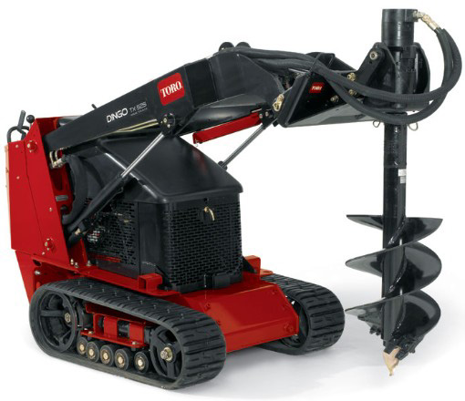 Equipment Rentals Dingo Skid Loader w/Post Hole Digger - $210/day, $160/4hrs