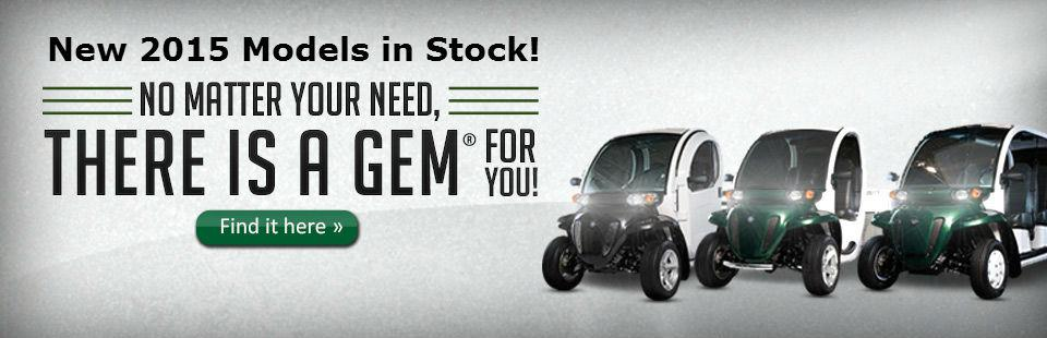 Click here to view the 2013 GEM® utility vehicles.