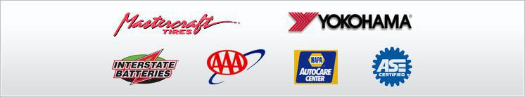 We proudly carry products from Mastercraft, Yokohama, Interstate Battery, and NAPA. We are AAA and ASE approved.