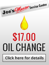 $17.00 Oil Change: Click Here for Details