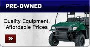 Pre-Owned: Quality equipment, affordable prices!