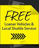 Free Loaner Vehicles & Local Shuttle Service
