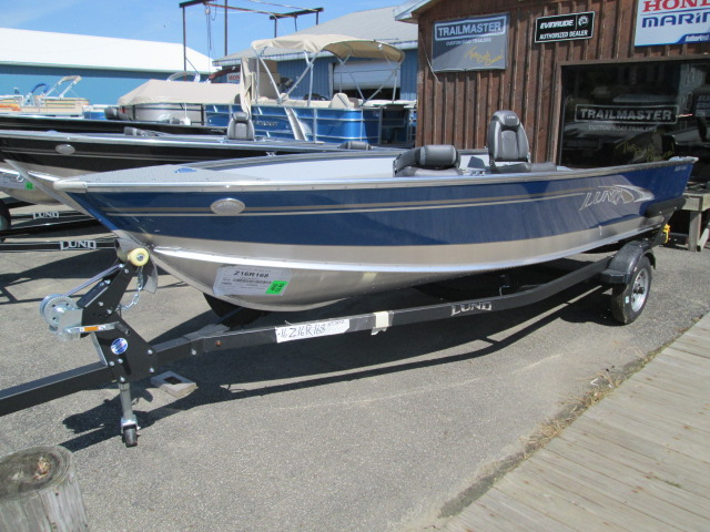 Lund Boats in Stock 2019 Lund 1600 Rebel Tiller (Blue) for sale in