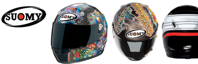 Now carrying Suomy helmets! Stop in today!