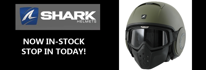 Shark Helmets Now In Stock