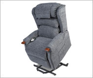 Hampton Lift Chair Infinite position 4 pillow back