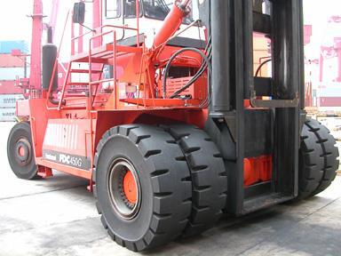 SG Tires - Big Red Forklift