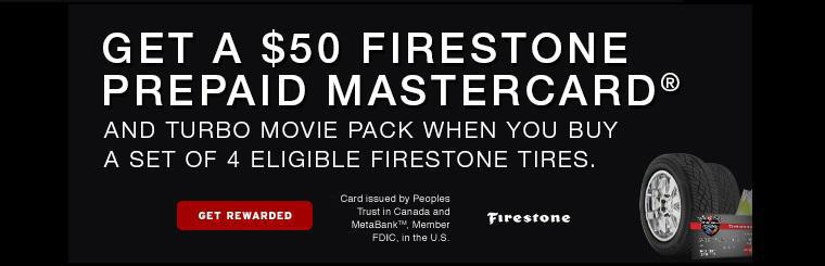 Firestone Destination Turbo Promotion