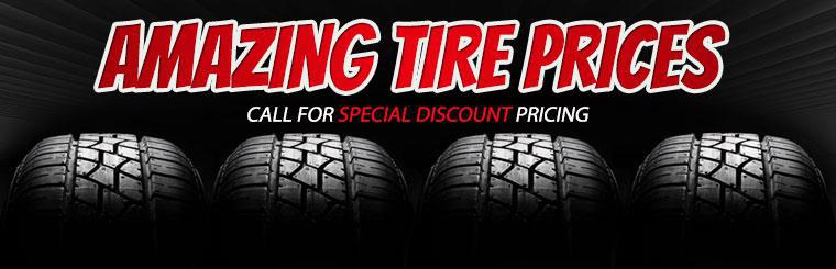 Call (803) 980-7200 for special discount pricing on tires!