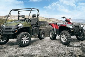 Polaris Ranger and ATV 2013