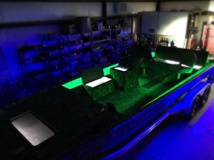 Led Light Packages And Wet Sounds Audio Upgrades Muddy Bay Marine