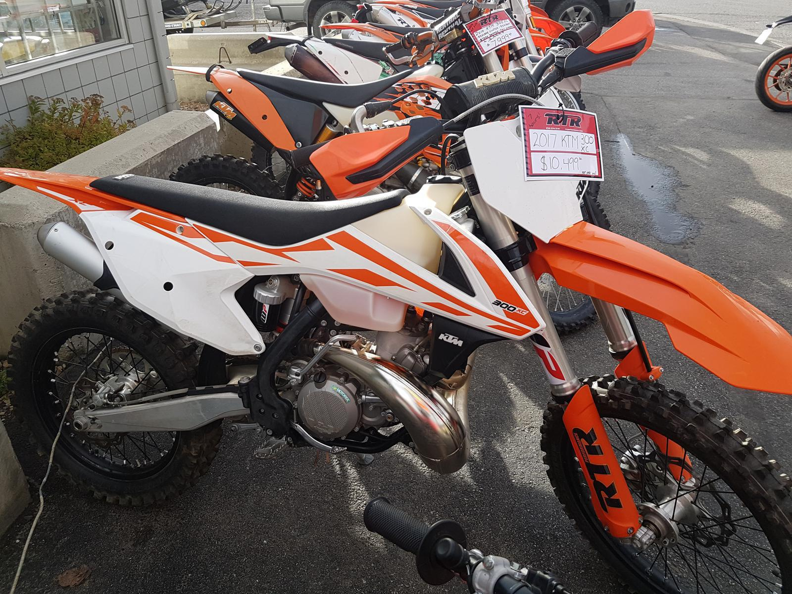 2017 ktm 300 xc for sale in kamloops, bc | rtr performance 1-800