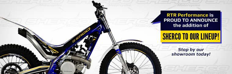 RTR Performance is proud to announce the addition of Sherco to our lineup! Click here to contact us.