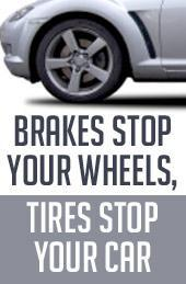 Brakes Stop Your Wheels, Tires Stop Your Car.